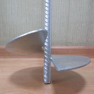 Anchor anchor for vineyard galvanized for trellis