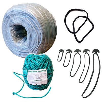 Cambric pvc (agrotube) for garter garden Ukraine 4mm