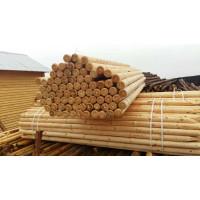 Столбы для сада ф100мм длина 4 м сосновые